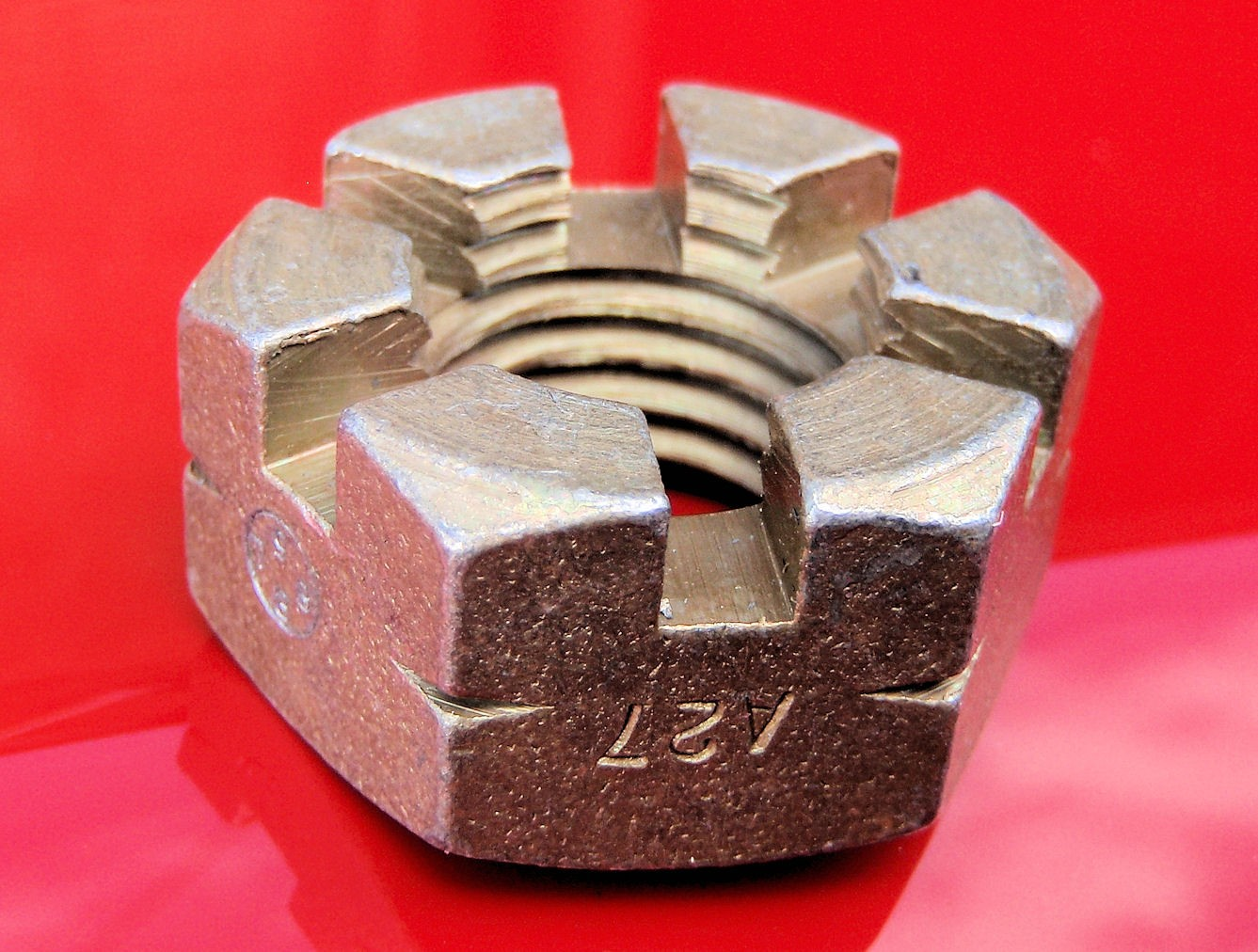 A27‑NS - Slotted Nut for wing attachment bolts C1-W-491/495