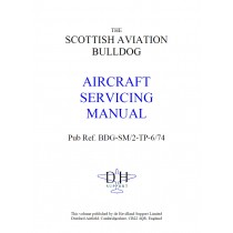 SCOTTISH AVIATION BULLDOG AIRCRAFT SERVICING MANUAL