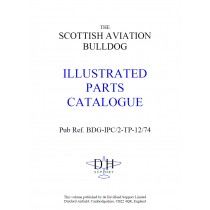 SCOTTISH AVIATION BULLDOG ILLUSTRATED PARTS CATALOGUE