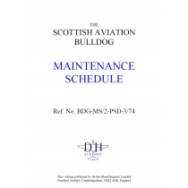 SCOTTISH AVIATION BULLDOG MAINTENANCE SCHEDULE