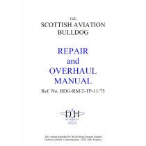 SCOTTISH AVIATION BULLDOG REPAIR and OVERHAUL MANUAL