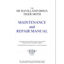 DH82A TIGER MOTH MAINTENANCE and REPAIR MANUAL