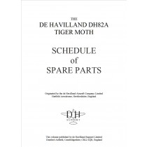 Tiger Moth Schedule of Spare Parts cover
